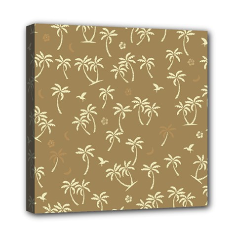 Tropical Pattern Mini Canvas 8  X 8  by Valentinaart