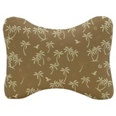 Tropical Pattern Velour Seat Head Rest Cushion by Valentinaart