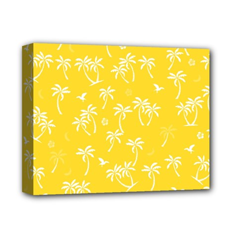 Tropical Pattern Deluxe Canvas 14  X 11  by Valentinaart