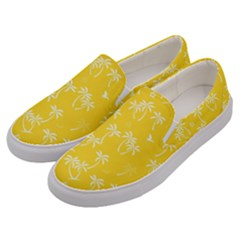 Tropical Pattern Men s Canvas Slip Ons by Valentinaart
