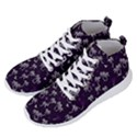 Tropical pattern Men s Lightweight High Top Sneakers View2