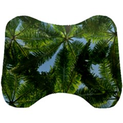 Paradise Under The Palms Head Support Cushion by CrypticFragmentsColors