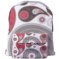 Fun Red And Black Design Giant Full Print Backpack