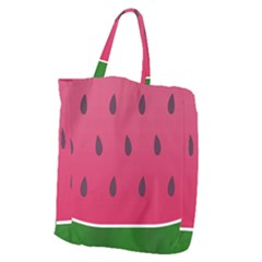 Watermelon Fruit Summer Red Fresh Giant Grocery Tote