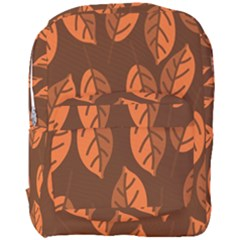 Pattern Leaf Plant Decoration Full Print Backpack by Nexatart