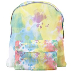 Abstract Pattern Color Art Texture Giant Full Print Backpack