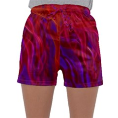 Background Texture Pattern Sleepwear Shorts