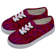 Background Texture Pattern Kids  Classic Low Top Sneakers by Nexatart