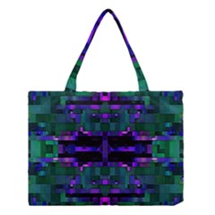 Abstract Pattern Desktop Wallpaper Medium Tote Bag by Nexatart