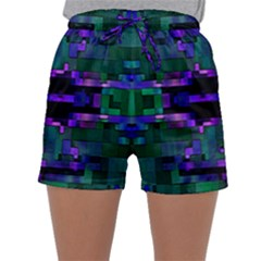 Abstract Pattern Desktop Wallpaper Sleepwear Shorts