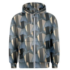 Pattern Texture Form Background Men s Zipper Hoodie