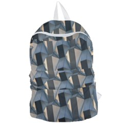 Pattern Texture Form Background Foldable Lightweight Backpack
