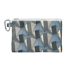 Pattern Texture Form Background Canvas Cosmetic Bag (medium)