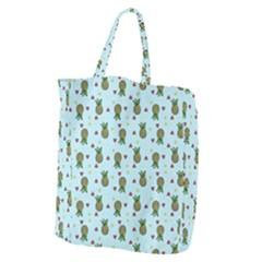 Pineapple Watermelon Fruit Lime Giant Grocery Tote by Nexatart