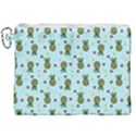 Pineapple Watermelon Fruit Lime Canvas Cosmetic Bag (XXL) View1