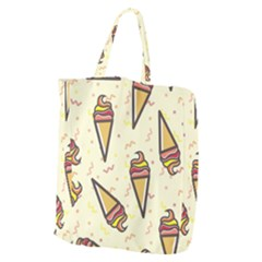 Pattern Sweet Seamless Background Giant Grocery Tote