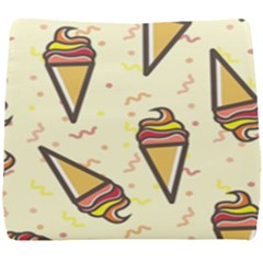Pattern Sweet Seamless Background Seat Cushion