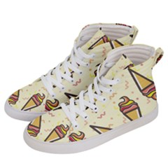 Pattern Sweet Seamless Background Men s Hi Top Skate Sneakers by Nexatart