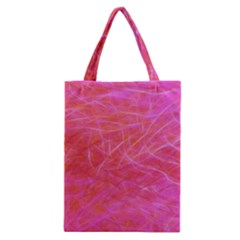 Pink Background Abstract Texture Classic Tote Bag by Nexatart