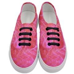 Pink Background Abstract Texture Women s Classic Low Top Sneakers