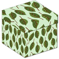 Design Pattern Background Green Storage Stool 12