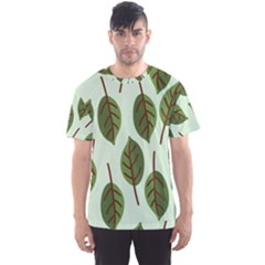 Design Pattern Background Green Men s Sports Mesh Tee by Nexatart