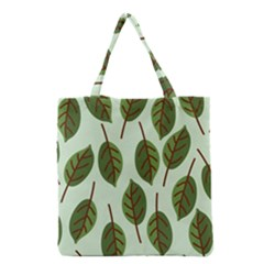 Design Pattern Background Green Grocery Tote Bag