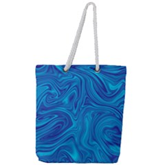 Abstract Pattern Art Desktop Shape Full Print Rope Handle Tote (large) by Nexatart