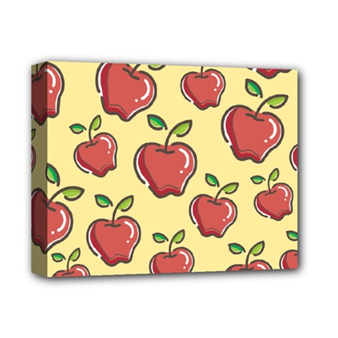 Seamless Pattern Healthy Fruit Deluxe Canvas 14  X 11  by Nexatart