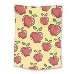 Seamless Pattern Healthy Fruit Medium Tapestry