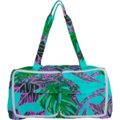 Painting Oil Leaves Nature Reason Multi Function Bag	 by Nexatart