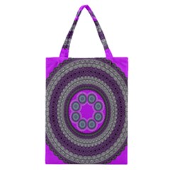 Round Pattern Ethnic Design Classic Tote Bag by Nexatart