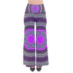 Round Pattern Ethnic Design So Vintage Palazzo Pants