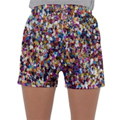 Pattern Abstract Decoration Art Sleepwear Shorts
