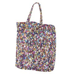 Pattern Abstract Decoration Art Giant Grocery Tote