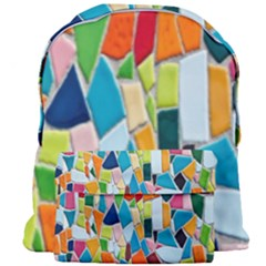 Mosaic Tiles Pattern Texture Giant Full Print Backpack