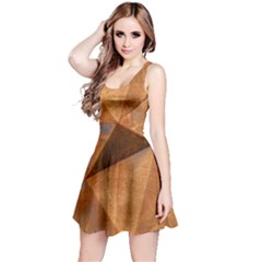 Steel Corten Steel Brown Steel Reversible Sleeveless Dress