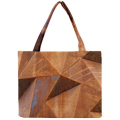 Steel Corten Steel Brown Steel Mini Tote Bag