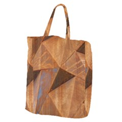 Steel Corten Steel Brown Steel Giant Grocery Tote