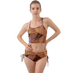 Steel Corten Steel Brown Steel Mini Tank Bikini Set