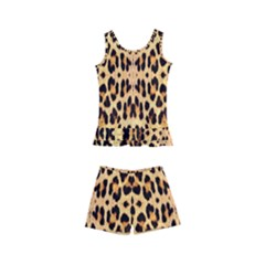 Leopard Skin Kid s Boyleg Swimsuit by ArtworkByPatrick1
