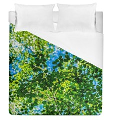 Forest   Strain Towards The Light Duvet Cover (queen Size) by FunnyCow