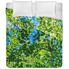 Forest   Strain Towards The Light Duvet Cover Double Side (california King Size) by FunnyCow