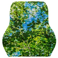 Forest   Strain Towards The Light Car Seat Back Cushion  by FunnyCow