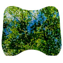 Forest   Strain Towards The Light Velour Head Support Cushion by FunnyCow
