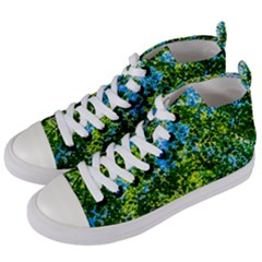 Forest   Strain Towards The Light Women s Mid Top Canvas Sneakers by FunnyCow