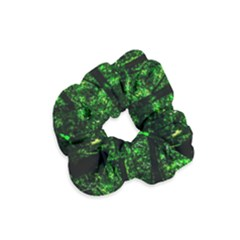Emerald Forest Velvet Scrunchie by FunnyCow