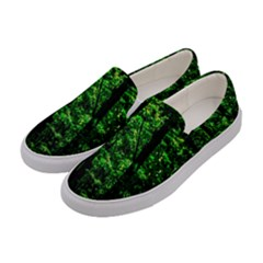 Emerald Forest Women s Canvas Slip Ons by FunnyCow