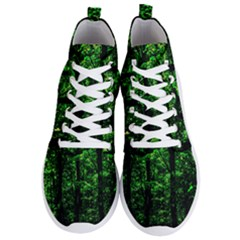 Emerald Forest Men s Lightweight High Top Sneakers by FunnyCow