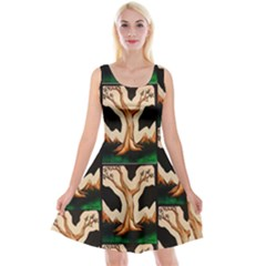 Maxwell s Surrealistic Tree Reversible Velvet Sleeveless Dress by SusanFranzblau
